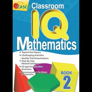 Classroom IQ Mathematics 2