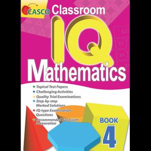 Classroom IQ Mathematics 4
