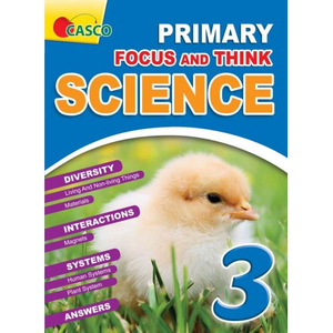 Focus and Think Science Primary 3