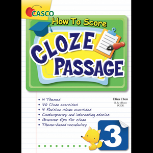 How to Score Cloze Passage 3