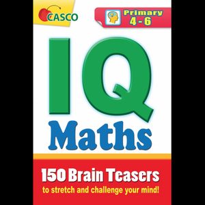 IQ Maths 150 Brain Teasers 4-6