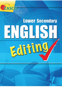 Lower Secondary English Editing
