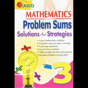 MATHEMATICS PROBLEM SUMS SOLUTIONS AND STRATEGIES 3