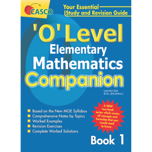 O level Elementary Maths Companion Book 1