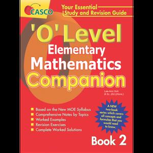 O level Elementary Maths Companion Book 2