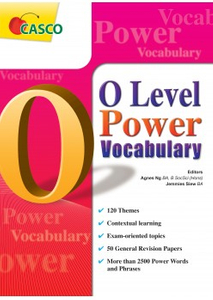 O Level Power Vocabulary