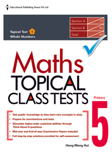 Maths Topical Class Tests 5