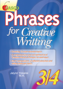 Phrases for Creative Writing 3/4