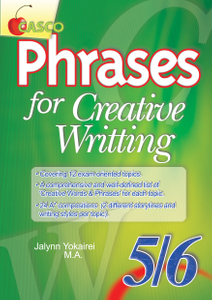 Phrases for Creative Writing 5/6