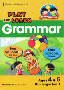 Play and Learn Grammar K1