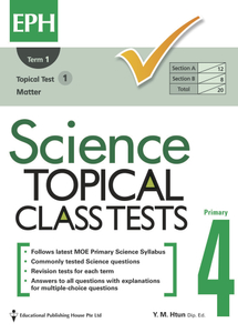 Science Topical Class Tests 4