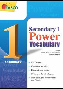 Sec 1 Power Vocabulary