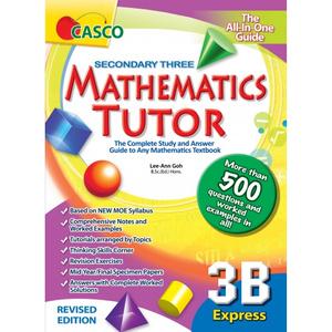 Sec Mathematics Tutor 3B (Revised Ed)