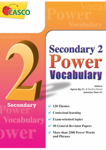Sec 2 Power Vocabulary