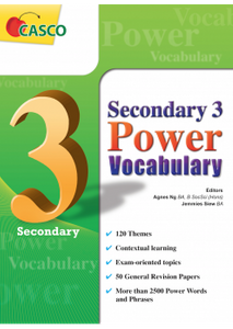 Sec 3 Power Vocabulary