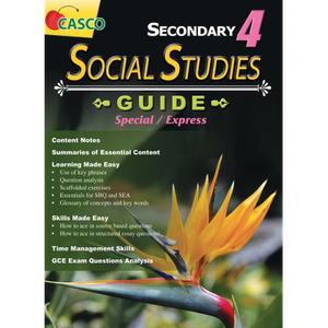 Secondary 4 Social Studies Guide Special/Express