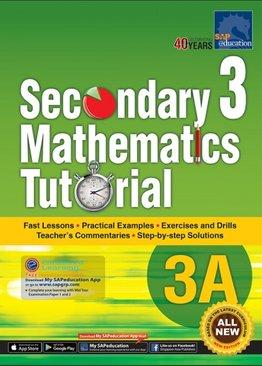 Secondary Three Mathematics Tutorial 3A