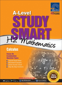 A-Level Study Smart H2 Mathematics [Calculus]
