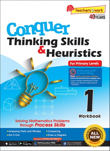 Conquer Thinking Skills & Heuristics for Primary Levels 1