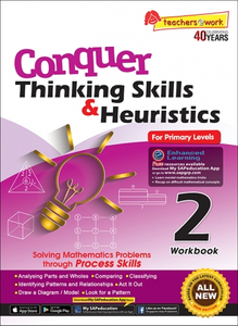 Conquer Thinking Skills & Heuristics for Primary Levels 2