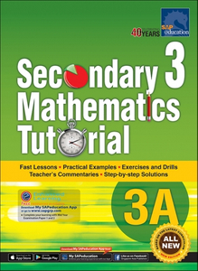 Secondary Three Mathematics Tutorial 3A