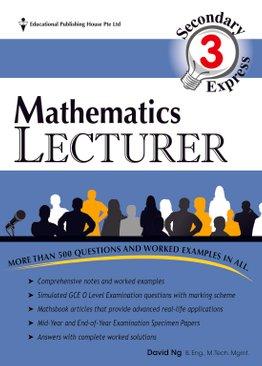Maths Lecturer 3E