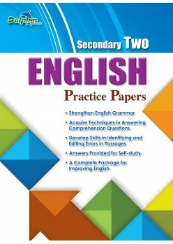 Sec 2 English Practice Papers