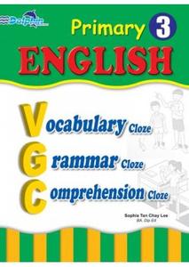 Pr 3 Eng Vocabulary, Grammar, Comprehension Cloze