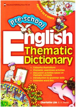 Preschool English Thematic Dictionary