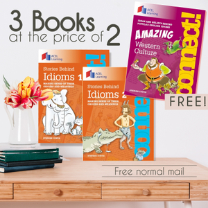 Stories Behind Idioms Bundle (3 books)