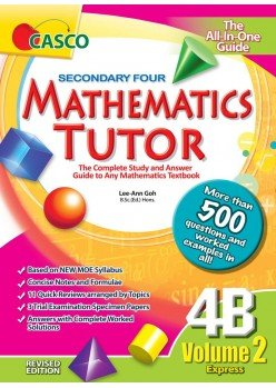 Sec Mathematics Tutor 4B Volume 2 (Revised Ed)