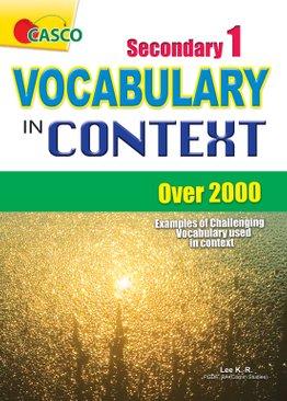 Sec 1 Vocabulary in Context