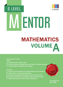 O Level Mentor Mathematics Volume A