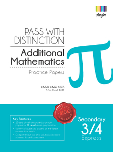 Pass with Distinction Add. Maths Sec 3/4 Exp (Practice Papers)