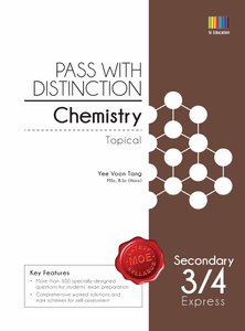 Pass with Distinction Chemistry Sec 3/4 (Topical)