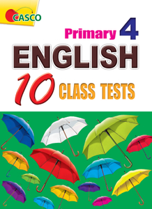 English 10 Class Tests Primary 4