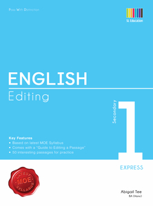 Pass With Distinction English Editing Secondary 1E