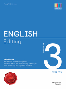 Pass With Distinction English Editing Secondary 3E