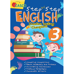 Step by Step English for Creative Writing Champions 3