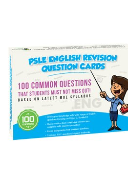 PSLE ENGLISH REVISON QUESTION CARDS