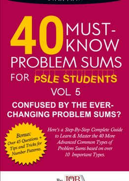 40 Must- Know Series: Problem Sums (Volume 5) (**Number Patterns**)