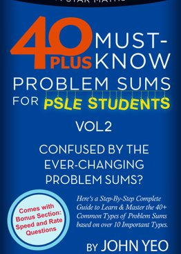 40 Must- Know Series: Problem Sums Volume 2 (Plus Algebra & Speed Questions)