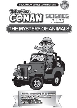 Detective Conan Science Files The Mystery of Animals