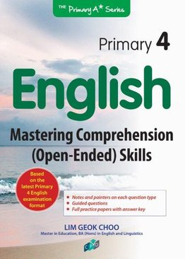 English Mastering Comprehension Open-Ended Skills P4