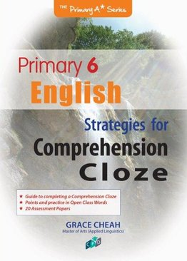 English Strategies for Comprehension Cloze P6