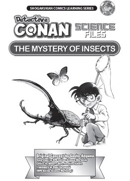 Detective Conan Science Files The Mystery of Insects