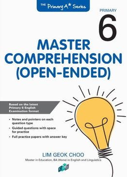 Master Comprehension Open-Ended P6