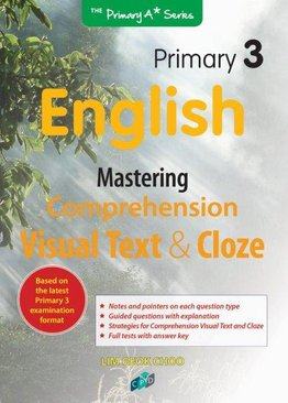Mastering Comprehension Visual Text & Cloze P3