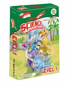 Science Adventures Level 1 [2017 Box Set]
