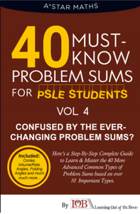 40 Must- Know Series: Problem Sums (Volume 4) (**Circles, Volume, Rate, Angles & Folding Angles**)